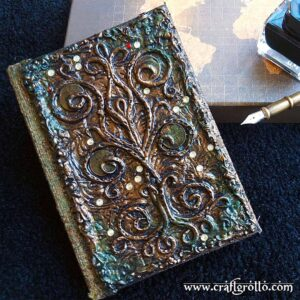 Money Tree 📔 Handcrafted Enchanted Notebook
