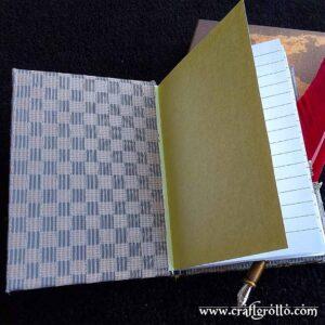 'Ocean Depths' 🐬 Handcrafted Enchanted Notebook